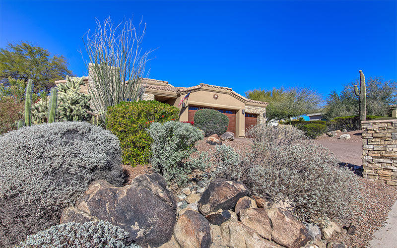 Driveway Photo of home in North Heights Fountain Hills Arizona